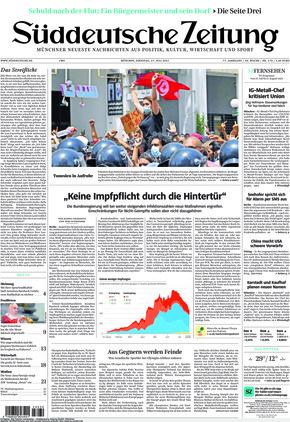 Süddeutsche Zeitung (27.07.2021)