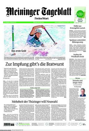 Meininger Tageblatt (28.07.2021)