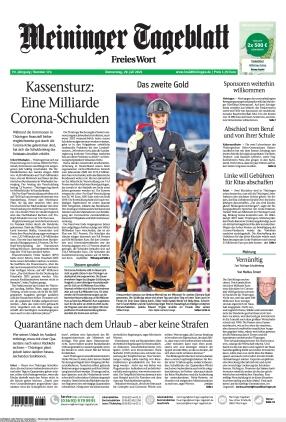 Meininger Tageblatt (29.07.2021)