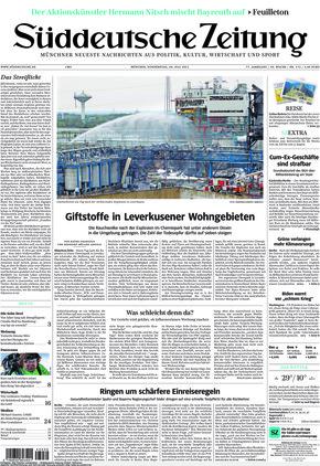 Süddeutsche Zeitung (29.07.2021)