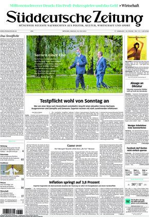 Süddeutsche Zeitung (30.07.2021)