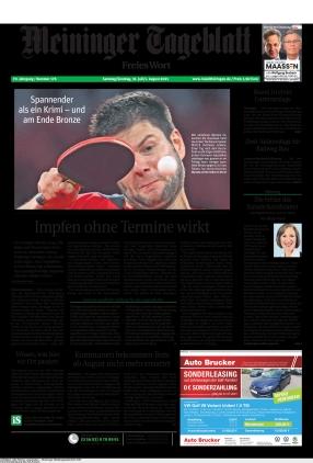 Meininger Tageblatt (31.07.2021)
