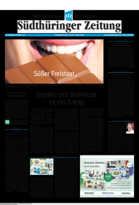 Südthüringer Zeitung (31.07.2021)