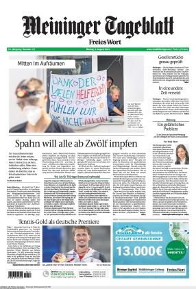 Meininger Tageblatt (02.08.2021)