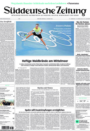 Süddeutsche Zeitung (02.08.2021)
