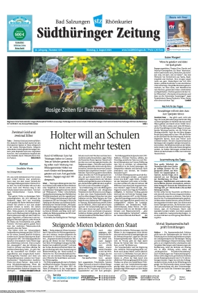 Südthüringer Zeitung (03.08.2021)