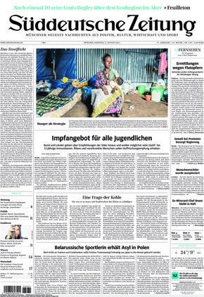 Süddeutsche Zeitung (03.08.2021)