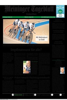 Meininger Tageblatt (04.08.2021)