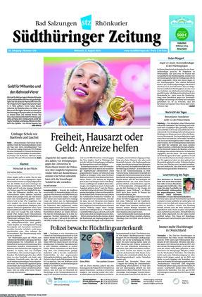 Südthüringer Zeitung (04.08.2021)
