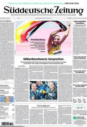 Süddeutsche Zeitung (04.08.2021)