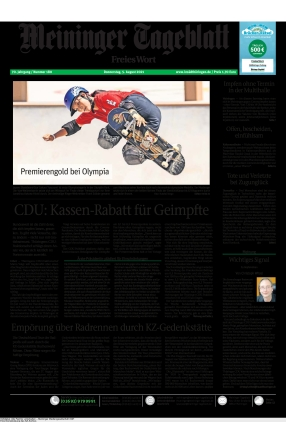 Meininger Tageblatt (05.08.2021)