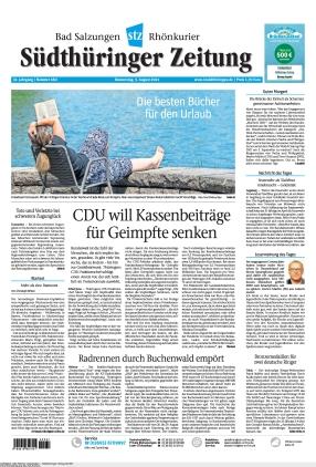 Südthüringer Zeitung (05.08.2021)