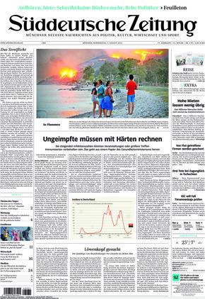 Süddeutsche Zeitung (05.08.2021)