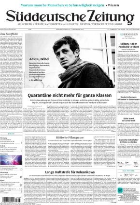 Süddeutsche Zeitung (07.09.2021)