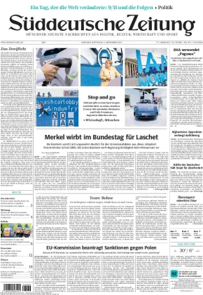 Süddeutsche Zeitung (08.09.2021)