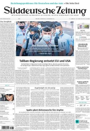 Süddeutsche Zeitung (09.09.2021)