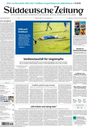Süddeutsche Zeitung (10.09.2021)
