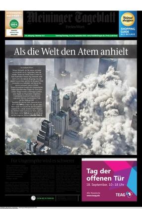 Meininger Tageblatt (11.09.2021)
