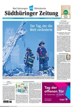Südthüringer Zeitung (11.09.2021)