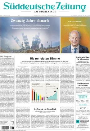 Süddeutsche Zeitung (11.09.2021)