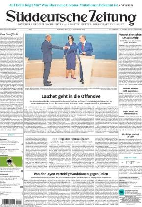 Süddeutsche Zeitung (13.09.2021)