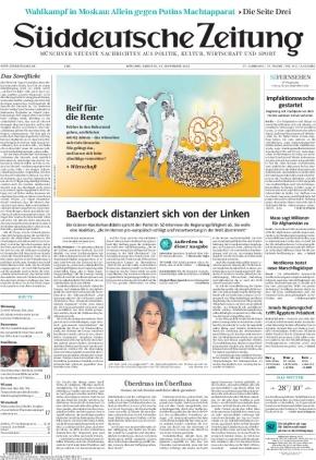 Süddeutsche Zeitung (14.09.2021)