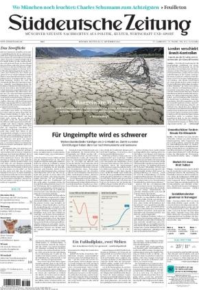 Süddeutsche Zeitung (15.09.2021)