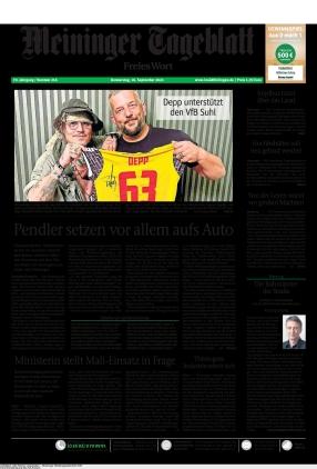 Meininger Tageblatt (16.09.2021)