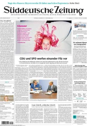 Süddeutsche Zeitung (16.09.2021)