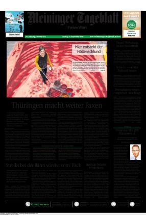 Meininger Tageblatt (17.09.2021)
