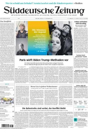 Süddeutsche Zeitung (17.09.2021)