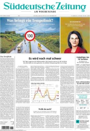 Süddeutsche Zeitung (18.09.2021)