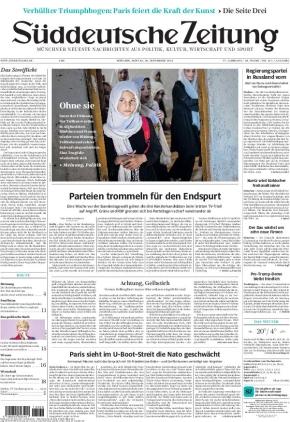 Süddeutsche Zeitung (20.09.2021)