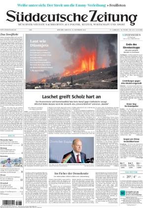 Süddeutsche Zeitung (21.09.2021)