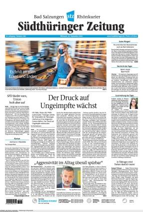 Südthüringer Zeitung (22.09.2021)