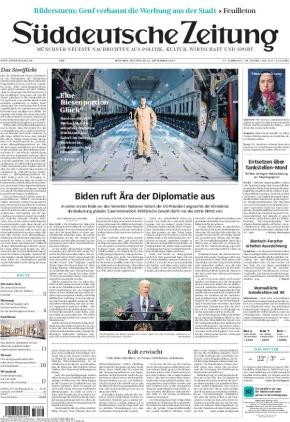 Süddeutsche Zeitung (22.09.2021)