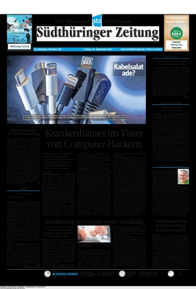 Südthüringer Zeitung (24.09.2021)