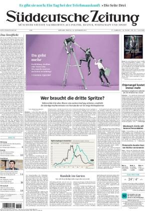Süddeutsche Zeitung (24.09.2021)