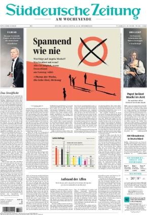 Süddeutsche Zeitung (25.09.2021)