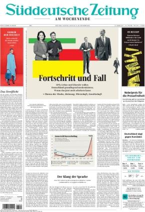 Süddeutsche Zeitung (09.10.2021)