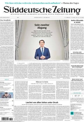 Süddeutsche Zeitung (11.10.2021)