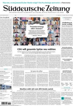 Süddeutsche Zeitung (12.10.2021)