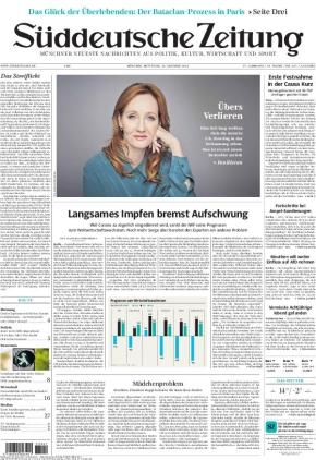 Süddeutsche Zeitung (13.10.2021)