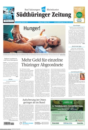 Südthüringer Zeitung (15.10.2021)