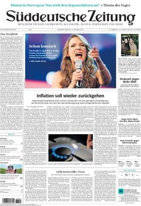 Süddeutsche Zeitung (15.10.2021)