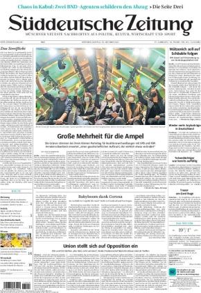 Süddeutsche Zeitung (18.10.2021)