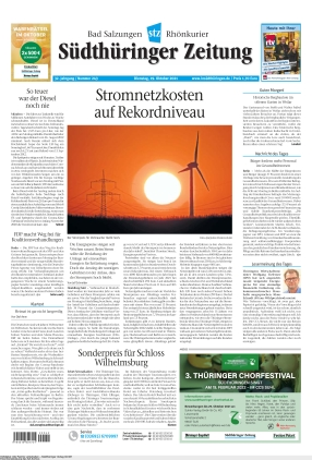 Südthüringer Zeitung (19.10.2021)