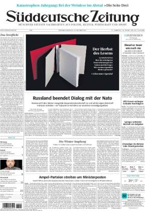 Süddeutsche Zeitung (19.10.2021)