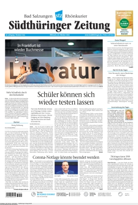 Südthüringer Zeitung (20.10.2021)