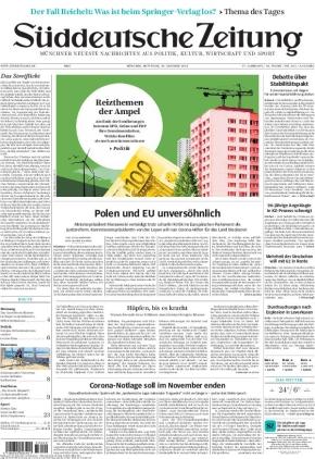 Süddeutsche Zeitung (20.10.2021)